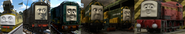 It's Diesel 10, Diesel, Paxton, Arry, Bert, and Norman