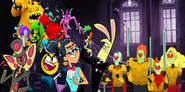 MLPCVTFQ - Master Frown and Sir Pentious ''Mine'' Norm The Genie Jack Rabbit The Vampires and Deadly Six