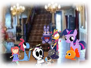 MLPCV - Wander Says All at game a too Same, Young Twilight, Young Wander, Young Sylvia, Young Grim Reaper plays Toys.