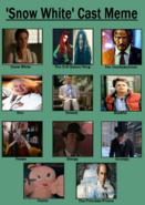 Belle White and the Seven Heroes Cast Meme