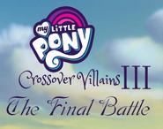 My Little Crossover Villains The Final Battle logo