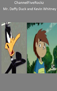 Mr. Daffy Duck and Kevin Whitney