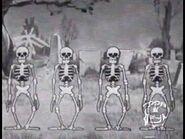 Silly Symphony Skeleton Dance on Toon Disney (October 31, 2000 RARE)
