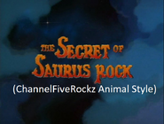 The Land Before Time 6 The Secret of the Saurus Rock (ChannelFiveRockz Animal Style)