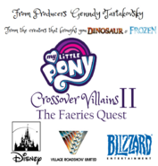 My Little Pony Crossover Villains II The Faeries Quest Poster