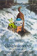 Homeward Bound The Incredible Journey (Disney and Sega Version) Poster