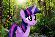 MLPCVTFB - Twilight Sparkle says for Are coming out in song.