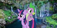 MLPCVTFQ - Twilight Sparkle and Spike Reunion,