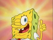 SpongeBob Winks