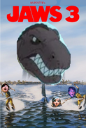 Jaws 3-D Poster
