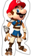 Light Mario as Light Jak