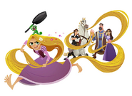 Tangled The Series Characters