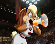 Lola Bunny has a Microphone by ChannelFiveRockz