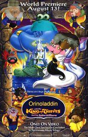 Orinoladdin 3 The King of Thieves Poster