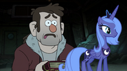 MLPCV - Young Grunkle Stan and Princess Luna