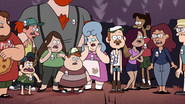 S1e20 Gravity falls towns people