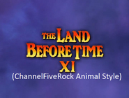 The Land Before Time 11 Invasion of the Tinysaurus (ChannelFiveRockz Animal Style)