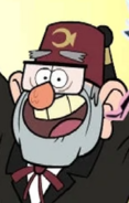 Grunkle Stan in My Little Pony Crossover Villains