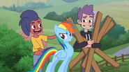 MLPCVTFQ - MaXi Says for Rainbow Dash I tell 'em there's a lot to learn down here on the ground.