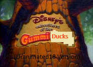 Adventures of the Gummi Ducks (Uranimated18 Version)