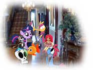 MLPCV - Wander Says A Pony Needs A Friends From Young Twilight, Young Wander, Young Sylvia, Young Grim Reaper plays Toys 3.