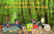 Sarah White and The Seven Nickelodeon Characters Part 23 - Race Against Time
