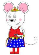 Wonder Mouse Girl (with a pistol gun)