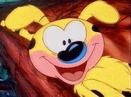 Marsupilami smiling