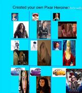 Disney Pixar Heroines (Movies236367's Version)