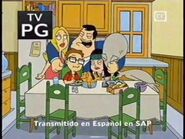 American Dad on Toon Disney (circa September 2005, tottaly rare and rare)