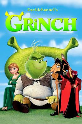 Grinch (Shrek) (2001) Poster