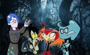 MLPCV - Grim Gloom Vlad Misty and Squish in Forest