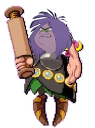 Madam Mim as Space Mama (Viking Form).