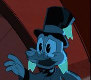 Frozen Scrooge McDuck is Happy by Thebackgroundponies2016Style