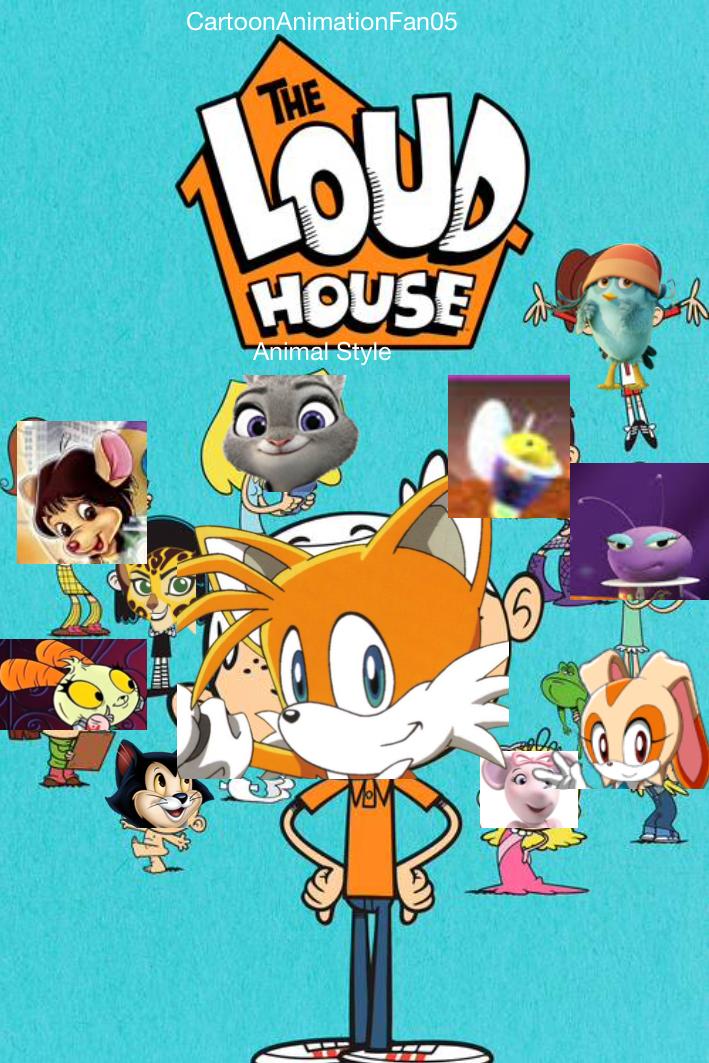 The Loud House (CartoonAnimationFan05 Animal Style ...