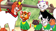 The Aristocat Family as The Teensies