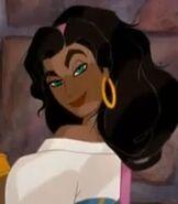 Esmeralda in The Hunchback of Notre Dame