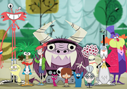 Foster's Home for Imaginary Friends Characters