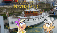 Lincoln Pan in Return To Neverland Part 16 - Captain Black Hat Gets Scared by Sharptooth Chloe Tries To Get Home