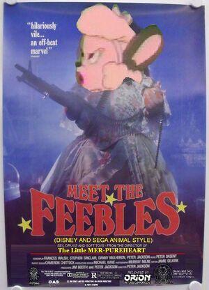 Meet the Feebles (Disney and Sega Animal Style) Poster