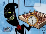 Nergal with a Clock by ChannelFiveRockz