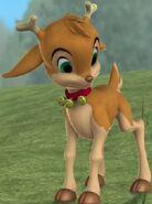 Holly Reindeer
