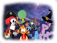 MLPCV - From Teenager Twilight, Wander, Sylvia and Grim Reaper in Halloween