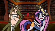 MLPCV - Young Princess Celestia Says Go away, you wretched McGucket