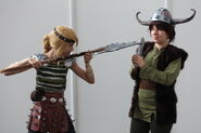 How to train your dragon hiccup and astrid by haricovert cosplay-d4hv7iw