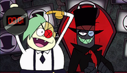 Black Hat and Lord Boxman