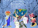 Katy Kat, Lulu Caty, Kitty Katswell, Susu Caty, Mimi Caty and Duchessto