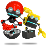 Orbot and Cubot Sonic Boom
