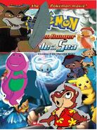 Pokemon rangers and the sea tample thebluesrockz style
