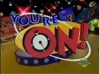 You're On Logo Nickelodeon Show